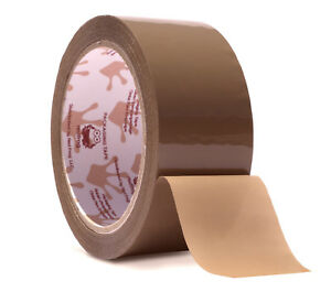 Red Frog 2 2mil 1 88 X 60 Yards Tan brown Low Noise Packaging Packing Tape
