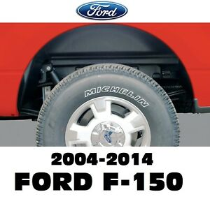 Rugged Liner Rear Wheel Well Inner Liners For 04 14 Ford F150 All Bed Length