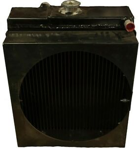 296283980 Vermeer 7 X 11 Radiator complete With Hydraulic Cooler