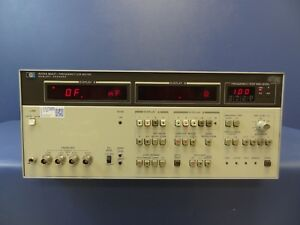 Hp agilent 4274a Lcr Meter 100 Hz To 100 Khz W opt s 001 004 101