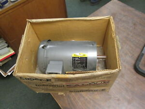 Baldor Ac Motor Vm3556t 1hp 1200rpm Fr 145tc Encl tefc 208 230 460v New Surplus