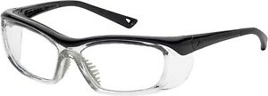 Onguard Safety Eyewear Og 220s Black Clear Glasses Goggles 58 15 135 W Dust Dam