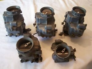 3 94 Carbs Ford Tri Power 32 48 Rat Rod Hot Street Vintage Mercury Chevy Olds