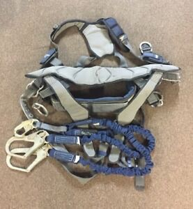 Sala Exofit Nex Full Body Harness Back D ring Large With Falltech 6ft Lanyard