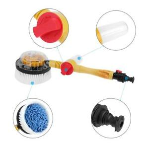 Car Auto Washing Brush Washer Automatic Rotating Spray Water Cleaning Tool