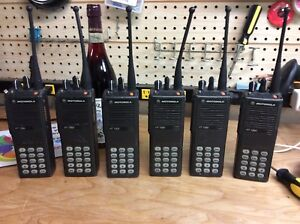 Motorola Ht1000 Uhf R Split 403 470 Dn Narrowband Model Lot Of 6 Tested W Batts