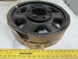 6 5v16 00 16 Dia 6 Groove V belt Pulley Sheave 3 15 16 Bushed Bore