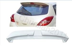 Factory Style Spoiler Wing Abs For 2004 2012 Nissan Versa Tiida Hatchback 1pcs A