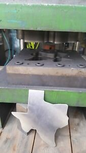 Custom Texas Stamping Die For Stainless Blanks Tool Obi Press