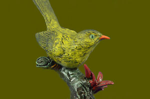 Colourful Bird Handcrafted Bronze Good Quality Artwork Sculpture Figurine Gift