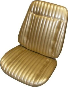 1970 Chevrolet Monte Carlo Front Coupe Rear Seat Covers Pui