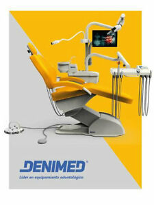 Computer Controlled Dental Unit Chair Fdace Approved Hard Leather Denimed Usa