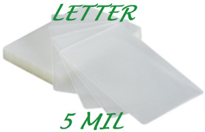 500 Letter Laminating Laminator Pouches Sheets 5 Mil 9 X 11 1 2 Quality