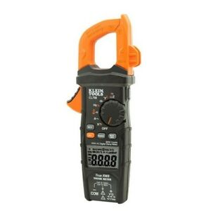 Digital Clamp Meter 600 Amp True Rms Current Voltage Temperature Resistance Trms
