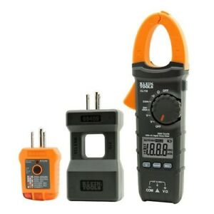 Multimeter Electrical Maintenance Test Kit Tester Auto Range Digital Clamp Meter