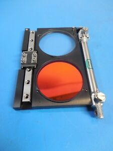 Optical Filter Linear Motion Slide Stage Air Actuator Assembly With Thk Rsr 7z