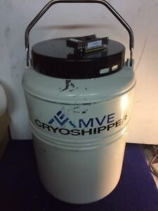 Mve Cryoshipper For Shipping Biological Samples At Cryogenic Temperatures W case