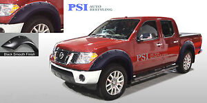 Black Paintable Pop Out Fender Flares 05 14 Fits Nissan Frontier 58 6 59 5 Bed