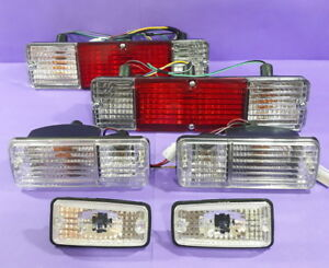 Suzuki Jimny Samurai Sierra Tail Light side And Front Turn Signal Lamps Crystal