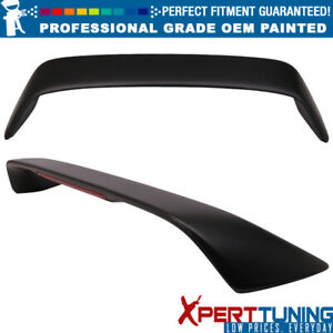 Fit 96 08 Honda Civic Si Coupe Type R With Led Trunk Spoiler Oem Painted Color