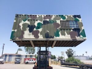 20 Camo Storage Container Shipping Containers Hunting Shack Portable Office
