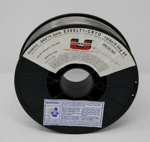 Unibraze 308lt1 Gas Shielded Flux Cored Stainless Mig Wire 10lb Spool Open Box