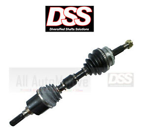 Cv Axle Shaft Front Left Diversified Shafts 8053n Fits 2000 2001 Nissan Sentra