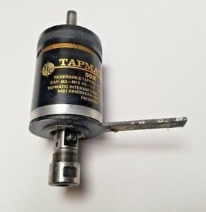 Tapmatic 50x Reversible Tapping Attachment Max Rpm 1500 Cap M3 m12 6 1 2