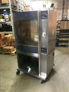 Fri jado Stg7 p Electric Single Stack Commercial Chicken Rotisserie Oven 4
