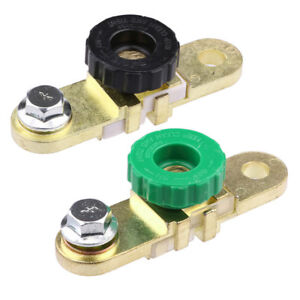 Brass Side Mount Car Auto Side Post Battery Master Disconnect Cut Off Switch