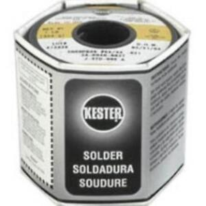 Kester Solder 24 6040 0027 60 40 Stand 0 031 Diameter 44 1 5 Us Seller New