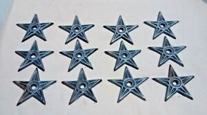 12 Cast Iron Stars Architectual Stress Washer Texas Star Rustic Ranch 2 7 8