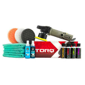 Chemical Guys Complete Professional Car Polishing Kit W Torq Polisher