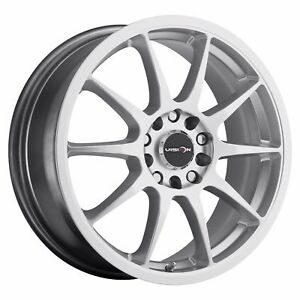 4 New 17 Wheels Rims For Pontiac Fiero Grand Am Sunfire Vibe Saab 9 2x 39518