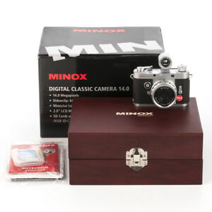 Minox Digital Classic Camera 14mp Video Stills