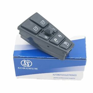 Master Control Window Switch For Volvo Truck Fh12 Fh13 Fm Vnl 20752918 21543897