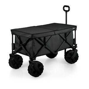 Picnic Time Elite Edition Collapsible Adventure Wagon With All terrain Wheels