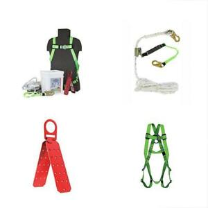 Safety Harnesses V8257275 Fall Protection Contractor Industrial Roofer s Kit