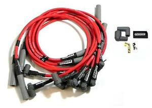 Moroso Ultra 40 Red Spark Plug Wires Bbc Chevy 454 502 Ovc Over Valve Covers Hei