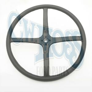 Ford Model A 1928 29 Steering Wheel Black Splined