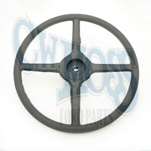 Ford Model A 1930 31 Steering Wheel Black Splined