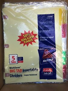 Office Supplies tabs File Jackets Etc 300 Value For 150 Or Best Offer