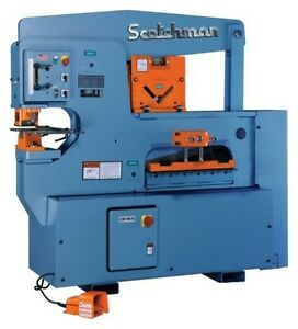 9012 24m Scotchman Ironworker 90 Ton Punch 12 Throat