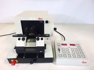 Leica Instruments Rm 2065 Rm2065 Rotary Microtome W Controller