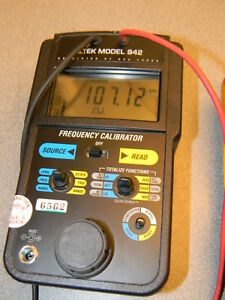 Altek Model 942 Frequency Calibrator With Totalizer