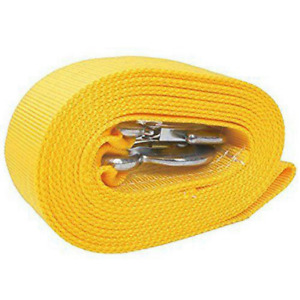 5 Tons Car Tow Cable Towing Strap Rope With 2 Hooks Heavy Duty 18000lb Sale