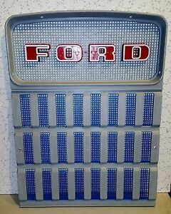 Ford Tractor Front Grill Set 2000 2100 2110 2120 2150 2300 2310 3000 3055 3110
