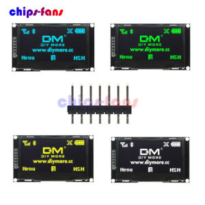 2 42 Inch Lcd Oled Display Rgb Ssd1309 12864 Spi Serial Port For Arduino C51