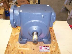 Browning 300c1 lr30e Right Angle Worm Gear Gearbox Speed Reducer 30 1 Ratio New