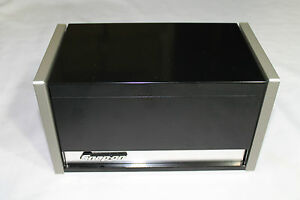 Snap On Black Mini Micro Top Chest Tool Box Rare Brand New